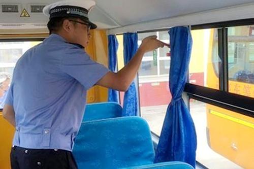 四川罗江交警巡逻一中队继续加强校车安全管理工作