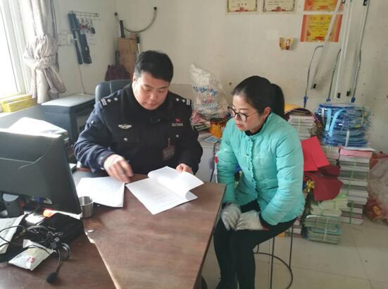 河南省新乡市封丘县:警方约谈校车负责人 让学生平安回家