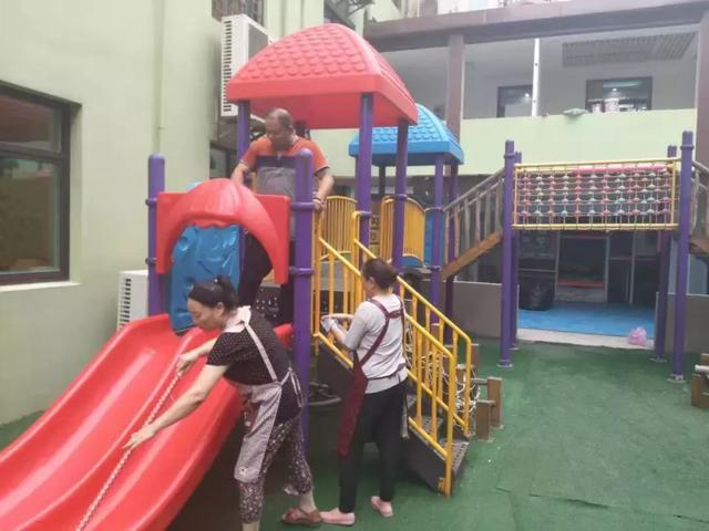 爱的护航:开封市教育系统幼儿园开学前后勤保障工作