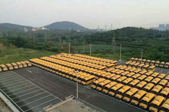 248辆!江苏省最大单笔校车订单花落宇通