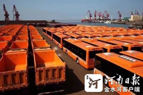 百辆宇通客车交付保加利亚首都 中国客车首次批量走进欧洲