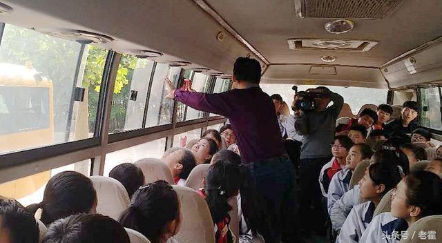 山东省滨州市:阳信县翟王镇中小学教会学生1分钟安全逃离校车