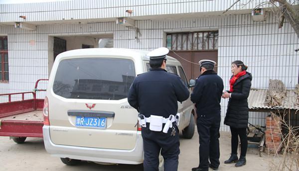 南阳社旗一天查处2起严重违法校车,驾驶员被处罚