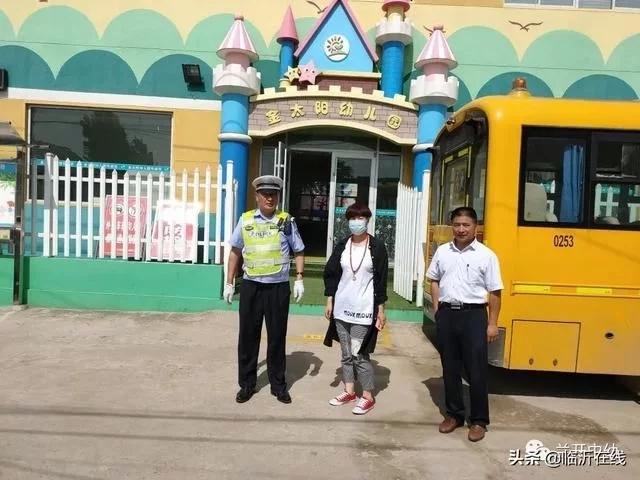 山东临沂市兰山经济开发区辖区幼儿园开展校车安全检查工作