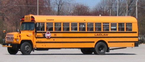"""美国校车最大优点就是他的醒目,给""""黄色校车之父""""赛尔教授点赞"""