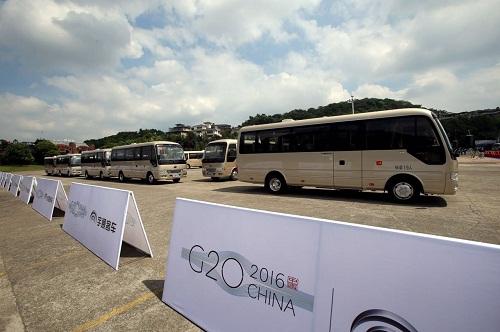 服务G20峰会 宇通T7高端公商务车正式交付杭州
