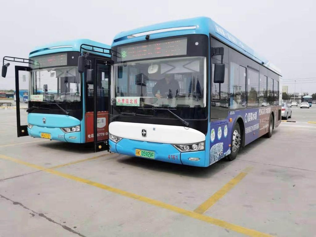 开发区23辆定制公交车辆全开通科学设置线路等
