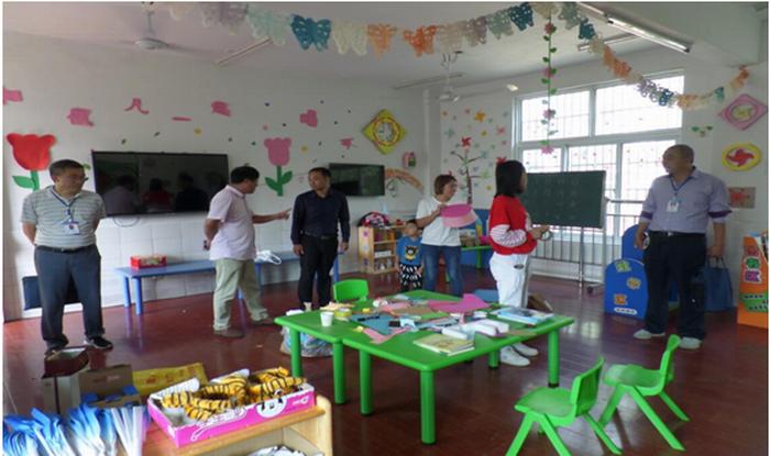 界首市泉阳中心幼儿园全面做好迎接阜阳市一类幼儿园复检工作