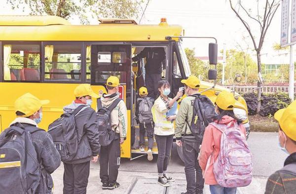 不一样的开学季,更安心的上学路!长鼻子校车为学生安全复学加码~