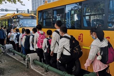 哈尔滨就校车安全管理条例征求意见 校车应配实时监控专人随车照管学生